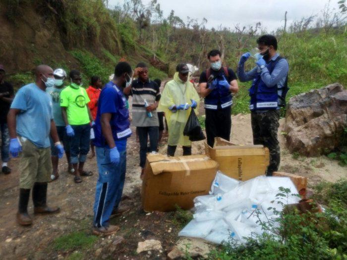 Humanity First Haiti Depremi'nde