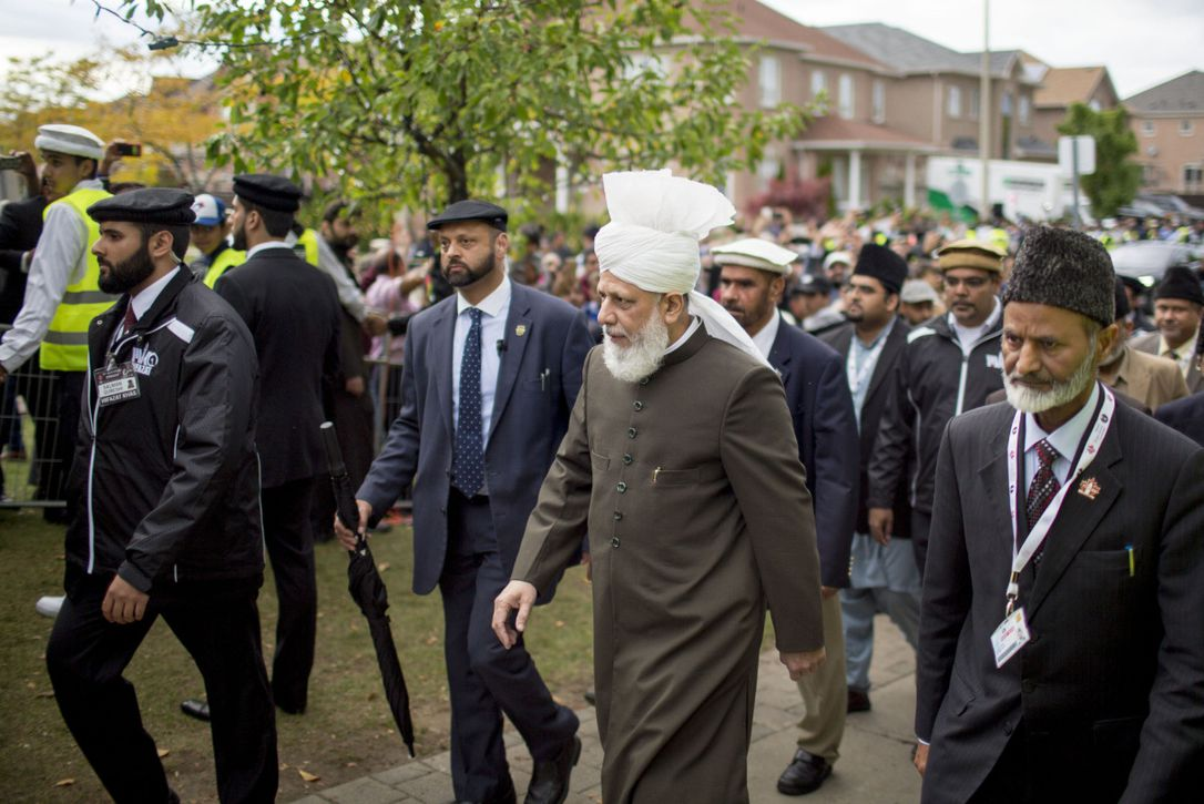 Hz. Mirza Masrur Ahmed'in (atba) Kanada ve Kanada Başbakanı Sn. Justin Trudeu'yu ziyareti.
