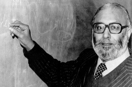 Nobel ödüllü ilk Müslüman Bilim Adamı Prof. Abdussalam