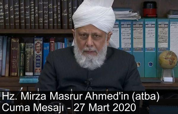 Hz. Emir-ül-Müminin'in (aba) özel mesajı. 27 Mart 2020