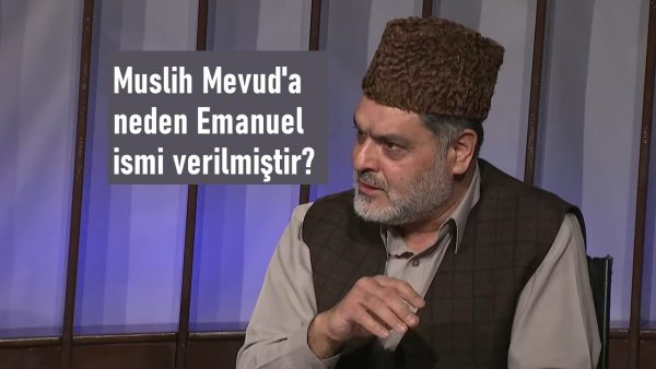 Muslih Mevud'a neden Emanuel ismi verilmiştir?